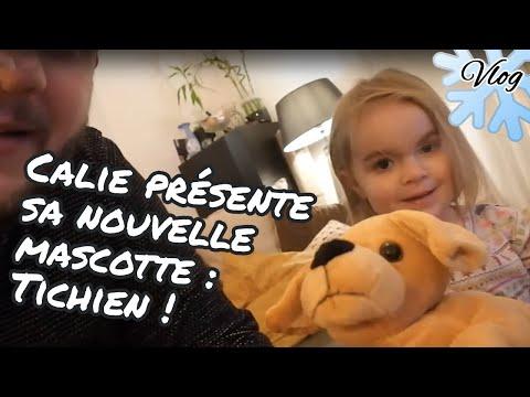 [.-vlog-.]-calie-présente-sa-nouvelle-mascotte-:-tichien-!-🐶