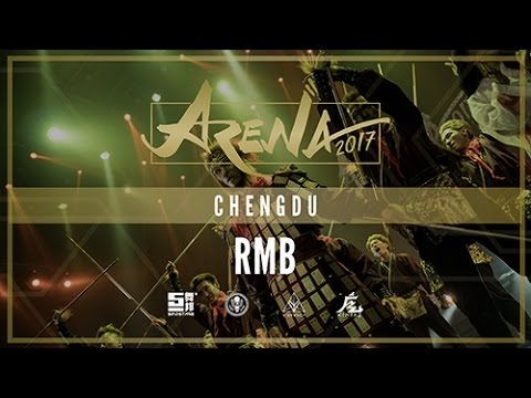 [2ND PLACE] RMB   ARENA CHENGDU 2017 [@VIBRVNCY FRONT ROW 4K] #arenachengdu