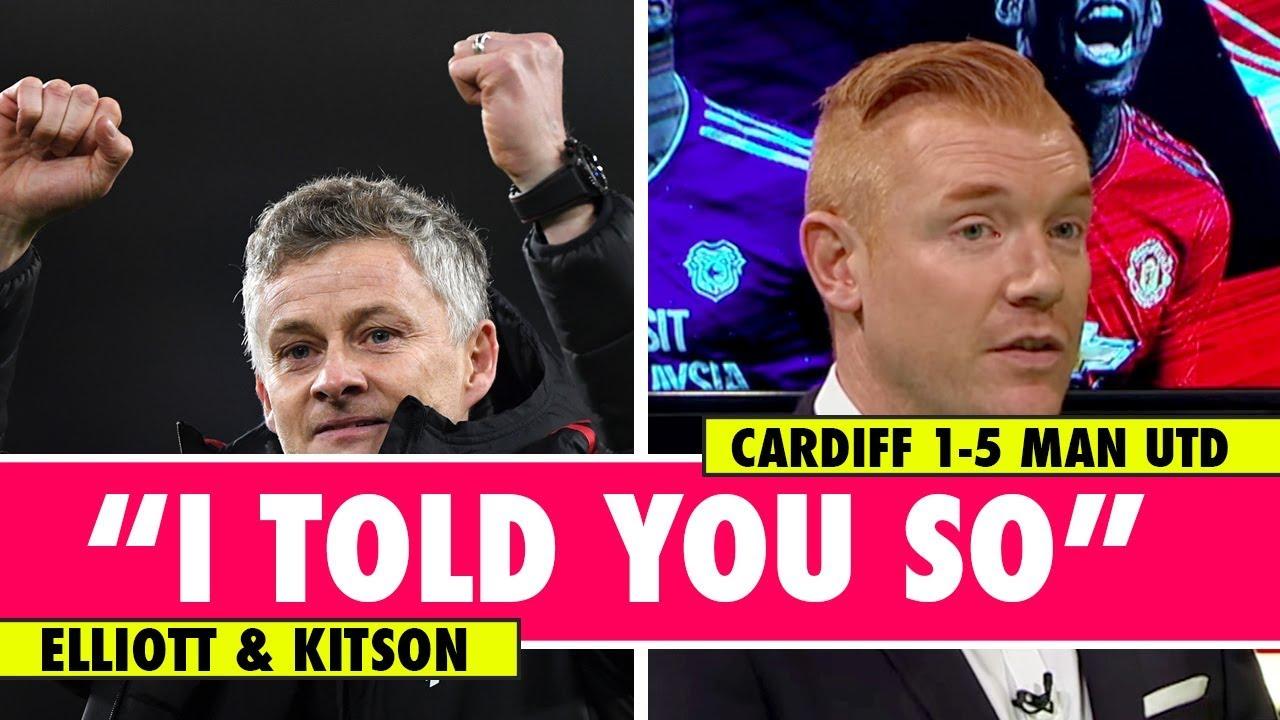 Rating Solskjaer S Debut Cardiff 1 5 Man Utd Astro Supersport Youtube