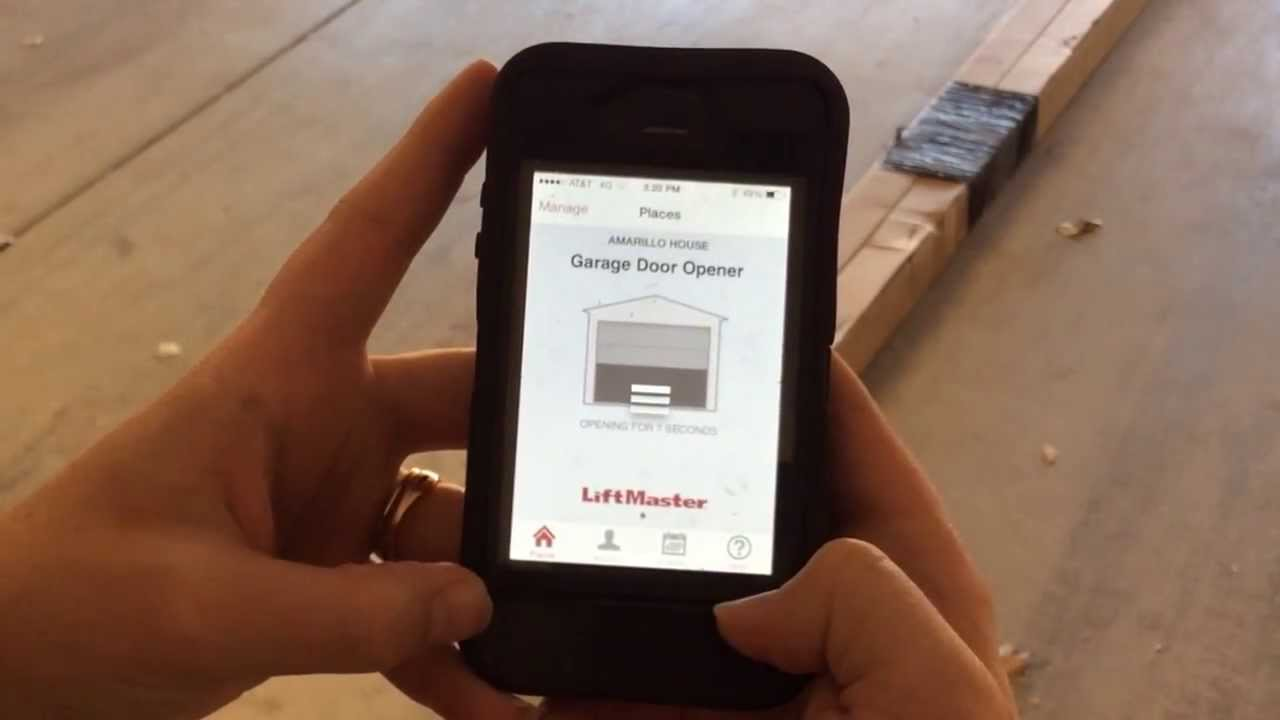 Garage Door Opener App Liftmaster Myq Youtube