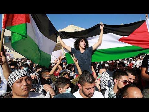 مظاهرات تضامنية مع الفلسطينيين وردود فعل دولية تطالب بوقف التصعيد…  - نشر قبل 2 ساعة