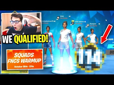 We QUALIFIED For The FIRST Season 11 Tournament EVER... (Fortnite Chapter 2 Competitive)