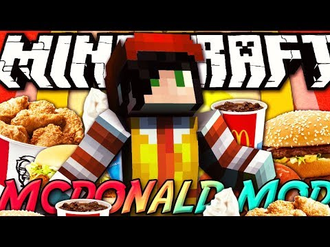 Minecraft ITA - Mod: MCDONALD'S MOD - Burger King, KFC, Coca Cola, Fast Food
