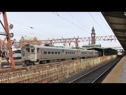Railfanning New Jersey Transit at the Hoboken Terminal