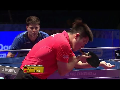 2016 Grand Finals (MS-QF) OVTCHAROV Dimitrij - FAN Zhendong