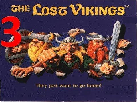 Lets play the  Lost Vikings Part 3 [German] ~ der Kindergarten ist zu Ende
