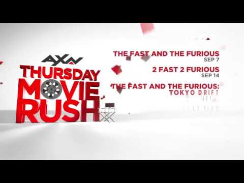 AXN's September Movie Rush (East Asia Feed)