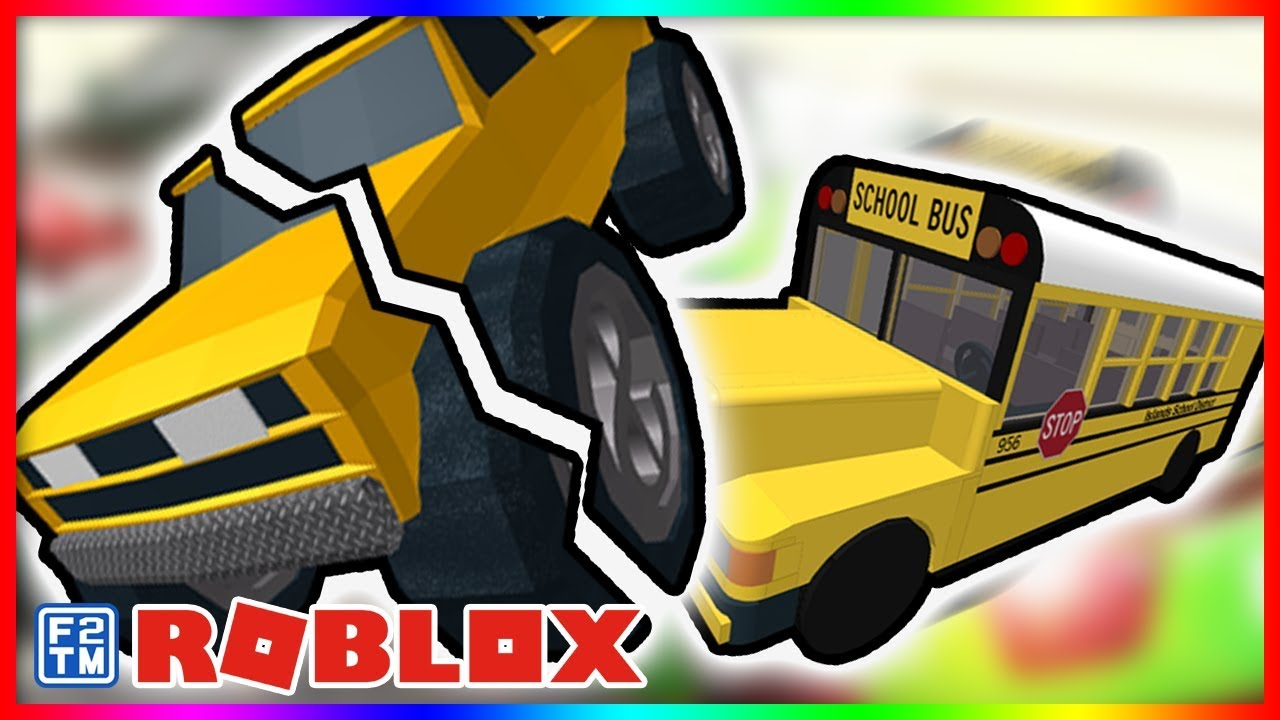 Smashing And Crashing Different Vehicles In Roblox Car