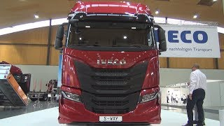 Cover images Iveco S-Way S 510 Tractor Truck (2020) Exterior and Interior