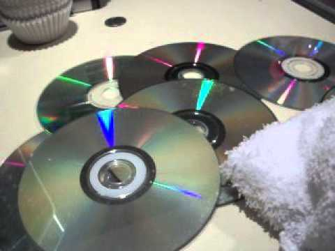 how to get rid of scratches on dvds