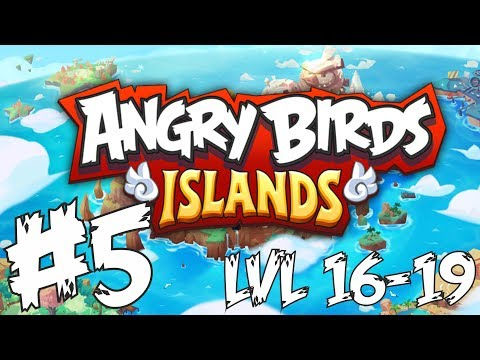 #5 LVL 16-19 Angry Birds Islands Español
