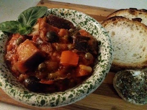 MEMORIES OF MALTA ~ KAPUNATA / CAPONATA (Aubergine Stew / Eggplant Relish)
