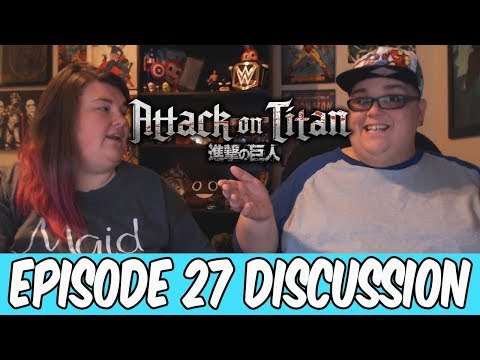 """Attack on Titan Episode 27 """"I'm Home"""" Discussion / Aftermath!"""