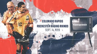 Colorado Rapids vs. Rochester Raging Rhinos: Open Cup Classics Replay - Sept. 14, 1999