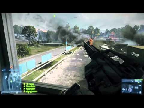 Battlefield 3 Multiplayer Gameplay LIVE Online - Launch Night Rush Gameplay (XBOX360/PS3/PC)