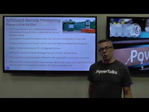 UPS Operational Efficiency Through Remote Monitoring