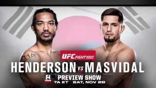 UFC Fight Night Seoul: Benson Henderson vs. Jorge Masvidal - Fight Network Preview