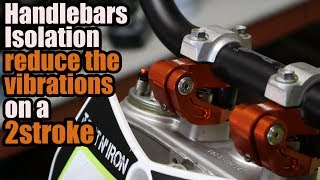 Reduce the vibrations and arm pump on a dirt bike - AHIS installation