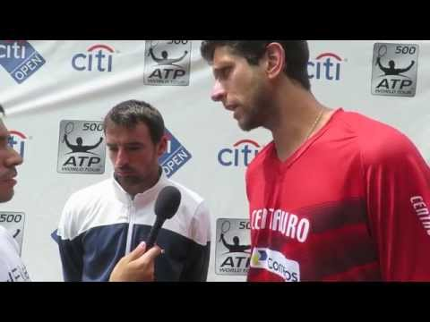 Ivan Dodig Marcelo Melo Interview - 2015 Citi Open Runners-up