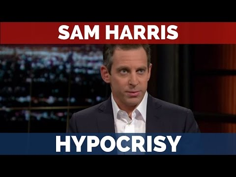 Sam Harris caught being a complete Hypocrite.