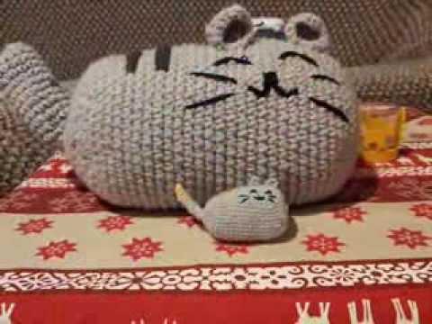 Amigurumi Gato Paso A Paso : Diy crochet pusheen youtube
