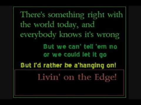 Aerosmith: Livin' on the Edge (Lyrics included)