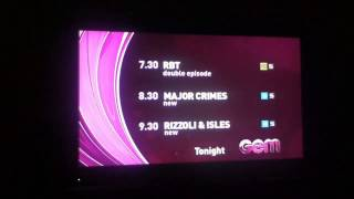 NBN Television Lineup & Ident - (30.09.2013)