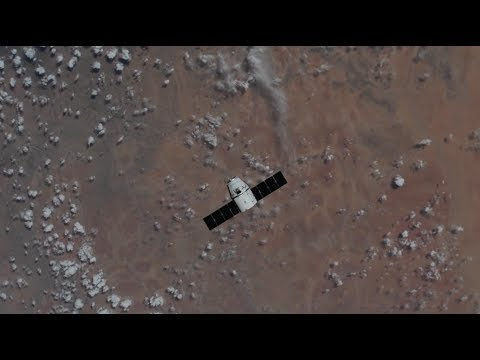 U.S. Commercial Cargo Ship Arrives at the Space Station