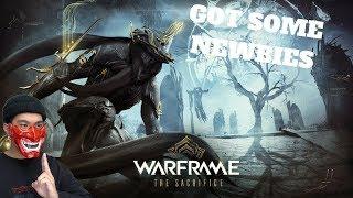 GOT SOME NEWBIES! - WARFRAME (PC) Live Stream and More