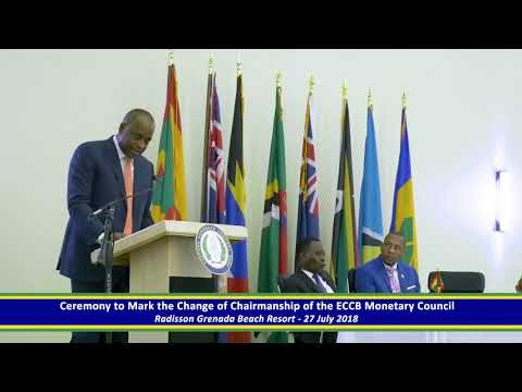 Hon Roosevelt Skerrit, Outgoing Chairman - Monetary Council