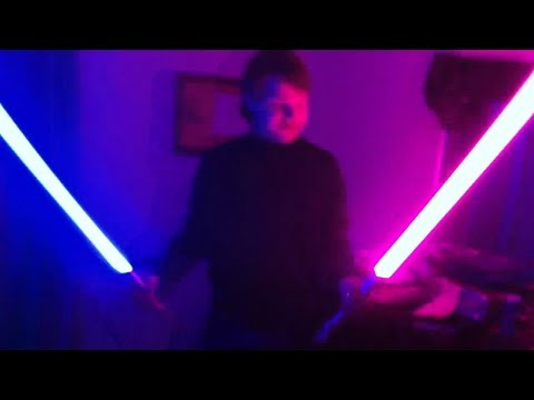 Ultra Sabers Prophecy with Guardian Blue blade review!