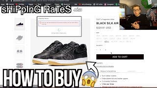 esencia Árbol Converger  HOW TO BUY Nike x Clot From JuiceStore For The US! | NO MORE SHIPPING  ISSUES! - YouTube