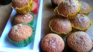 Walnut Raisin Muffins Easy And Quick (arabic Subtitles) المافن السريع بالجوز و الزبيب