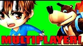 Banjo Kazooie Nuts & Bolts Multiplayer - MOAR TIREZ!!