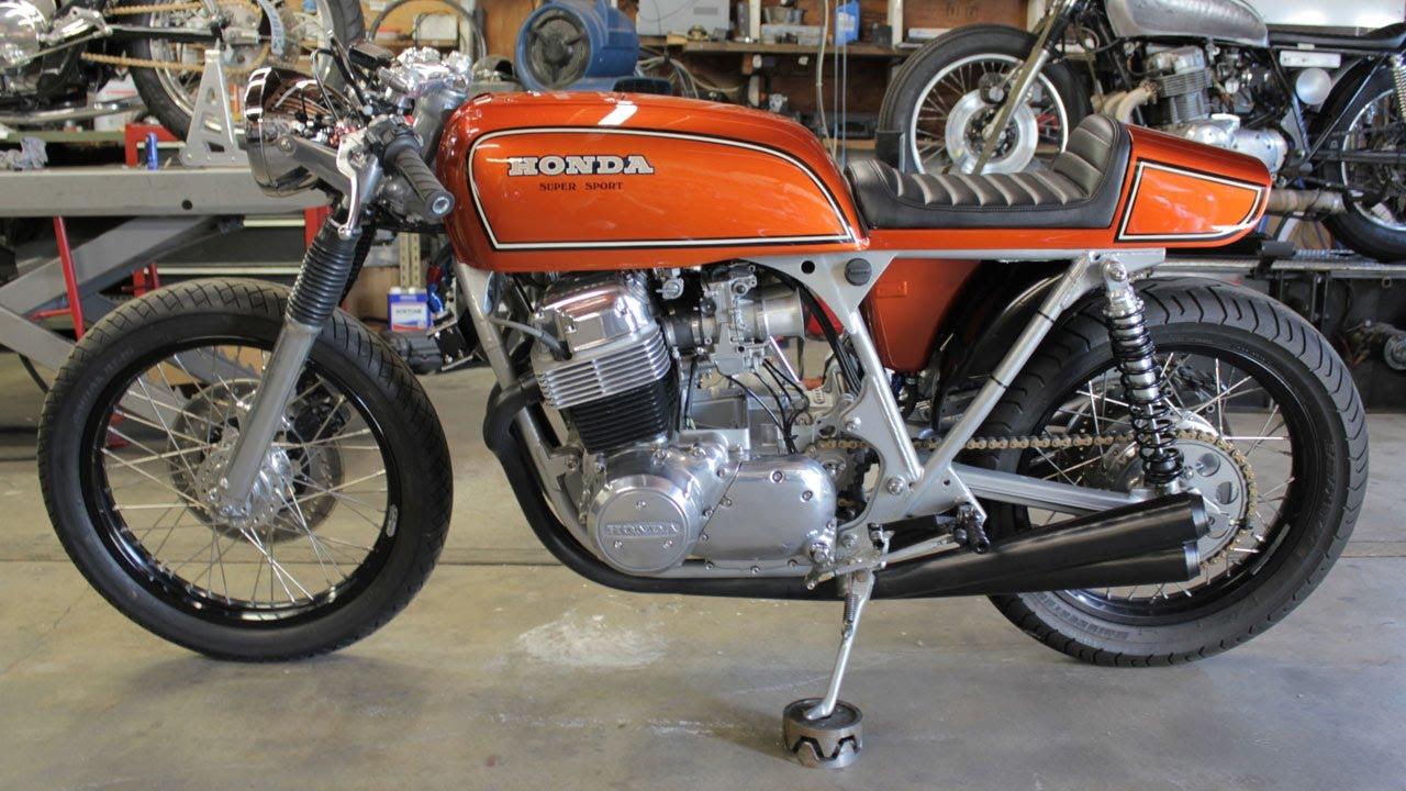 twinline motorcycles 1975 honda cb 750 super sport cafe. Black Bedroom Furniture Sets. Home Design Ideas