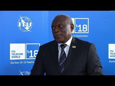 ITU TELECOM WORLD 2018: Siyabonga Cyprian Cwele, Minister, Telecomms.& Postal Services, South Africa