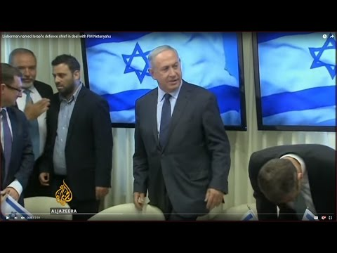 Lieberman named Israel's defence chief in deal with PM Netanyahu
