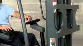 CAT Forklift Fingertip Hydraulic Controls