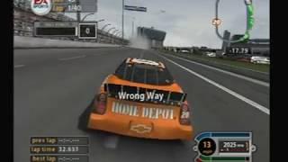 Nascar 2005 Crashing - Gamecube
