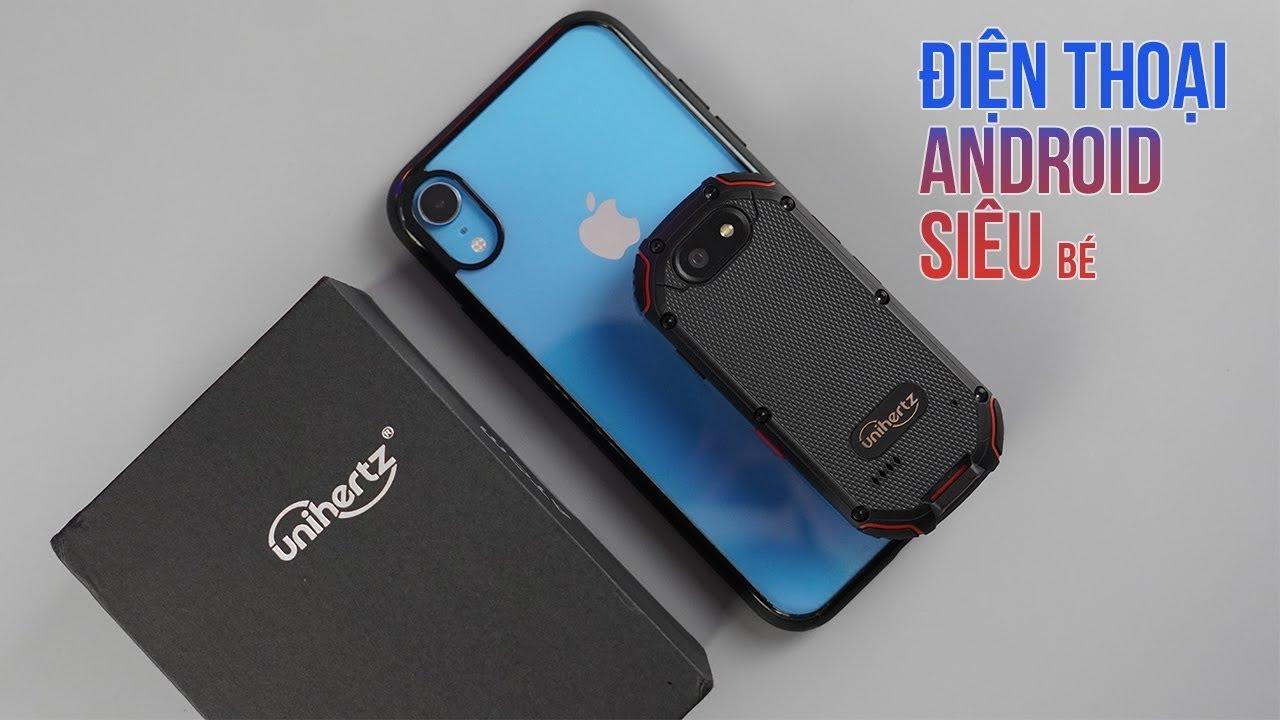 Mở hộp điện thoại siêu bé Unihertz Atom: Khỏi lo giật điện thoại