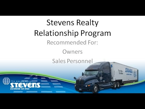 Stevens Van Lines Realty Relationship Program HD
