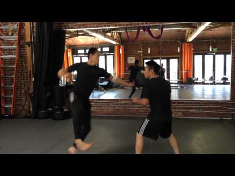 Alfred Hsing vs Michael Lehr Practice Fight at XMA