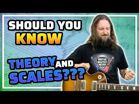 Do You Need To Learn Guitar Music Theory And Learn Guitar Scales To Play Well?