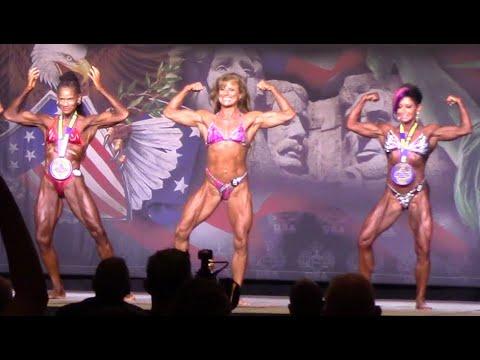 60+ Women's Bodybuilding Top 6 2020 NPC Teen Collegiate & Masters Nationals