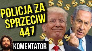 Policja w Domu Za Akcję Informacyjną o Roszczeniach od Polski Just Act 447 USA - Analiza Komentator