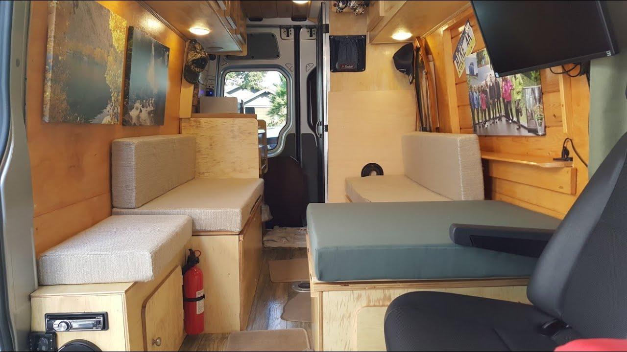 Diy Converting A Sprinter Crew Van To A Camper Cabin