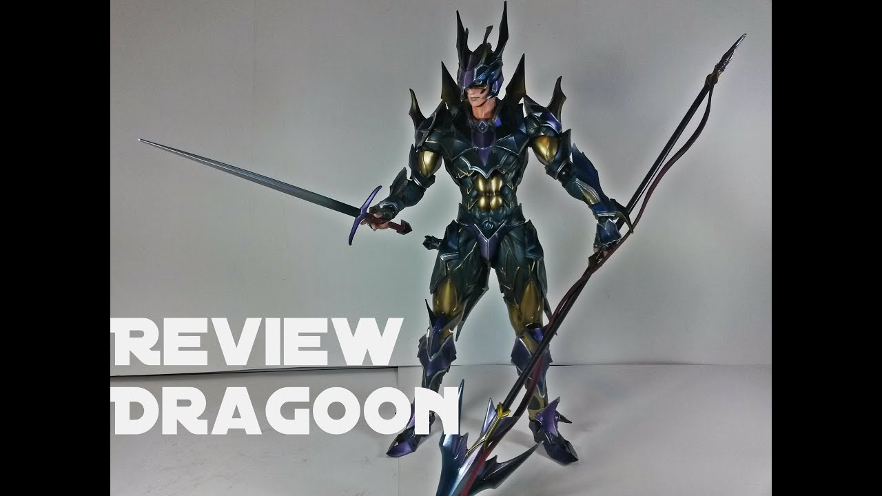 Extrêmement Play Arts Kai Dragoon Final Fantasy Review - YouTube KA64