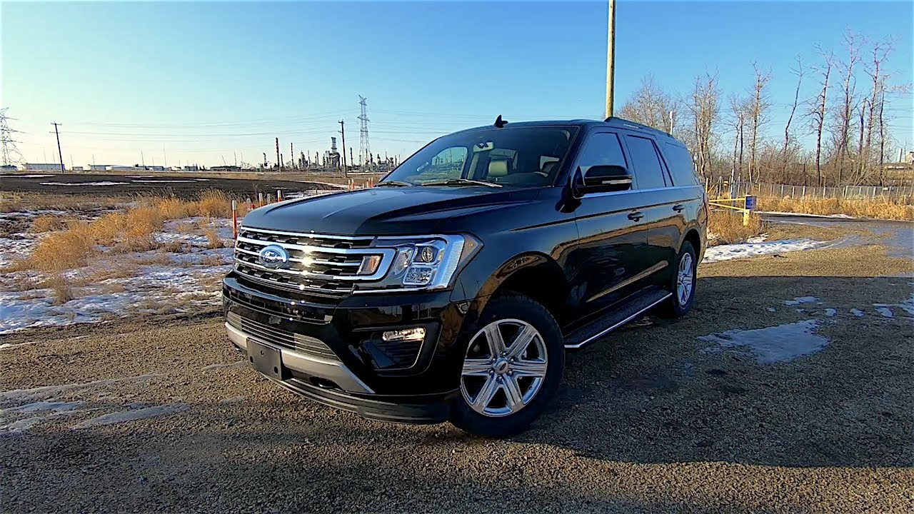 First Drive  Ford Expedition Xlt Edmonton Ab