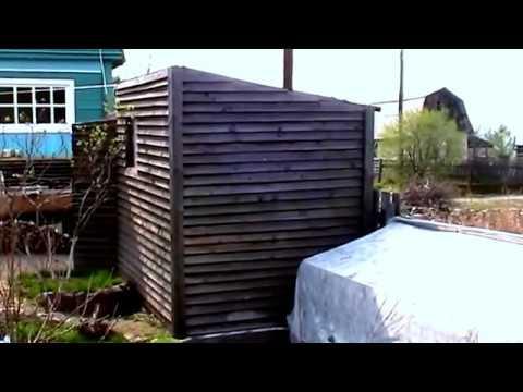 видео: Маленькая баня на даче