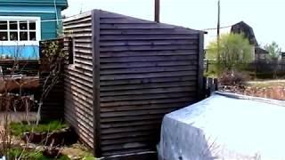 Маленькая баня на даче(http://sotkiradosti.ru/ маленькая баня на даче такой же необходимый элемент как и дом, каких размеров я соорудил небол..., 2012-05-14T03:20:43.000Z)